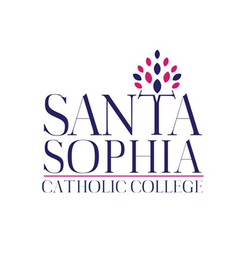 Santa Sophia College Logo